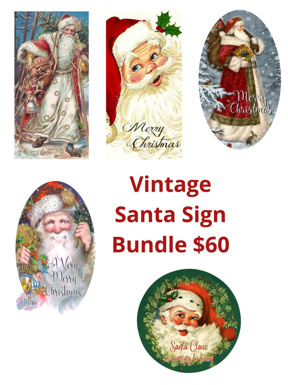Vintage Santa Bundle - DecoExchange