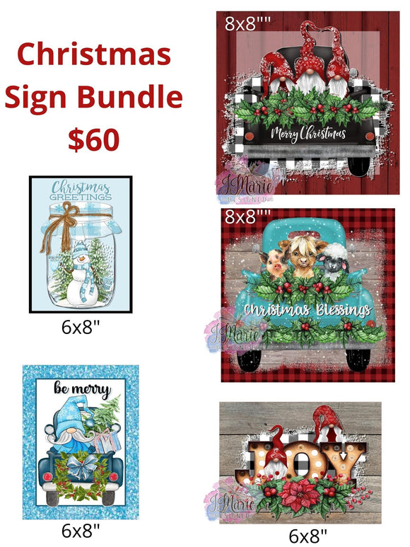 Christmas Sign Bundle