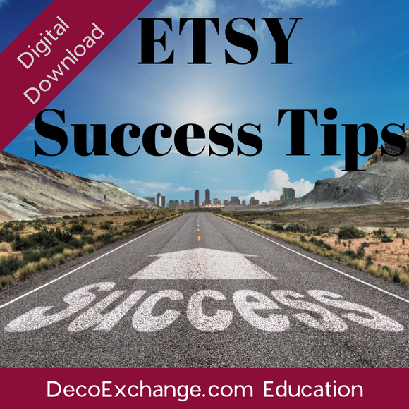 Damon's Etsy Success Notes - DecoExchange