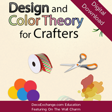 Load image into Gallery viewer, Design and Color Theory for Crafters Featuring On The Wall Charm