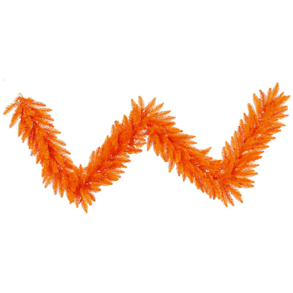 9' Artificial Garland Orange K162414