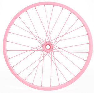 "16.5""Dia Decorative Bicycle Rim Pink MD050722"