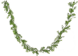 6'L Boxwood Garland Tt Green PF1672 - DecoExchange