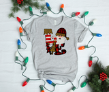 Love Santa Christmas Shirt Unisex Jersey Short Sleeve Tee - DecoExchange