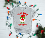 Just Stay Gnome For Christmas Shirt - DecoExchange