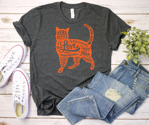 Cat Lovers Shirt - Short-Sleeve Unisex T-Shirt - DecoExchange - DecoExchange
