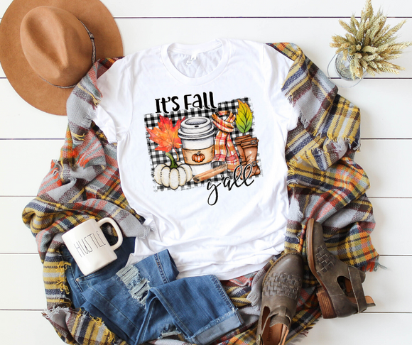 It's Fall Y'all Unisex Jersey Short Sleeve Tee - DecoExchange