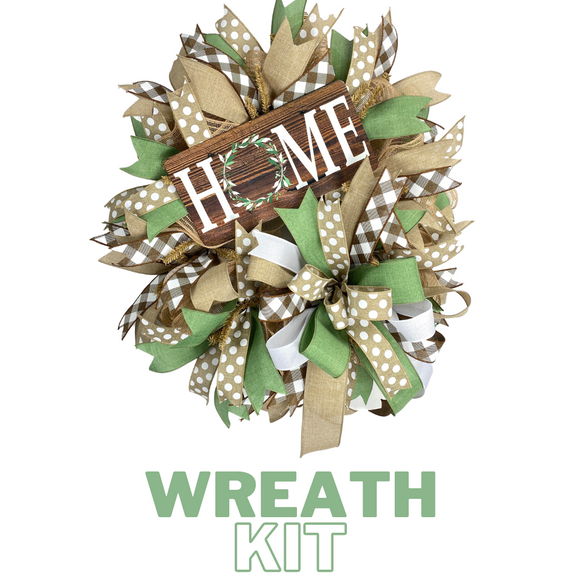 Home DecoMesh Wreath Kit - DecoExchange