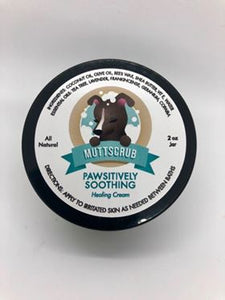 Pawsitively Soothing All Natural Healing Lotion - Muttscrub - DecoExchange