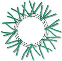 "15""WIRE,25""OAD-PENCIL WORK Form Emerald Green XX750406 - DecoExchange"