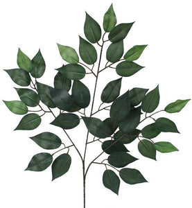 "23""L FICUS SPRAY 12 Pcs Green FG505430 - DecoExchange"