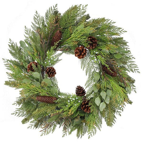 Winter Welcome Wreath, Pine Wreath, Winter Wreath, Holiday Wreath, Christmas Decor, Holiday Decor, Christmas Wreath, Christmas