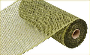 "10""X10Yd Poly Burlap Mesh Olive Green RP810089 - DecoExchange"