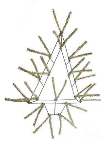 "20""H Pencil Open Wall Tree Metallic Gold XX765408"