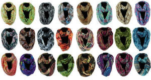 "35""X70"" INFINITY SCARVES ASSORTED RF2603 (one random style/color) - DecoExchange"