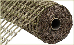 "21""X10Yd Poly Burlap Check Mesh Camouflage RP9131H9"