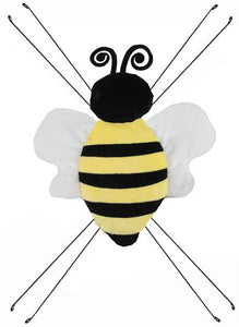"11""L X 10""W Bumble Bee Decor Yellow/Black/White MD0570"