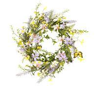 Spring Wreath, JONQUIL FORSYTHIA WREATH, Butterfly Wreath,