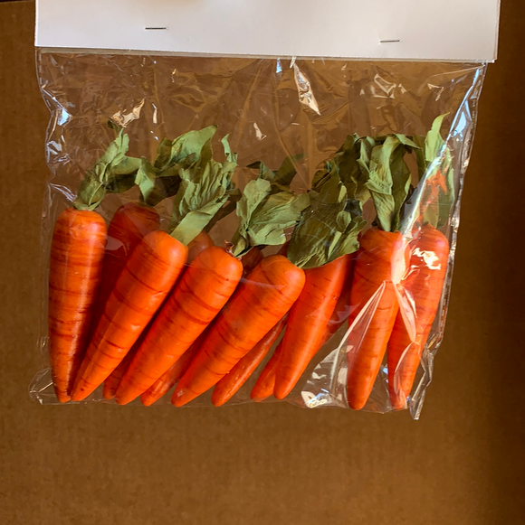 3 In Carrot ( 12 Pc  ) In Bag 58467 - DecoExchange