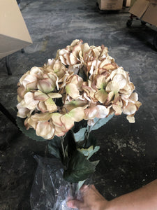 20 In Hydrangea Bush X 5 58081-TAUP - DecoExchange