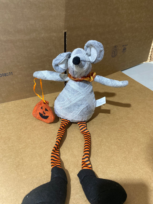 Tricksy Mouse Dangle Leg mummy 50135 - DecoExchange