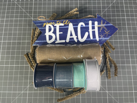 Welcome to the Beach Wreath Kit - Wreath Kit - WK-031