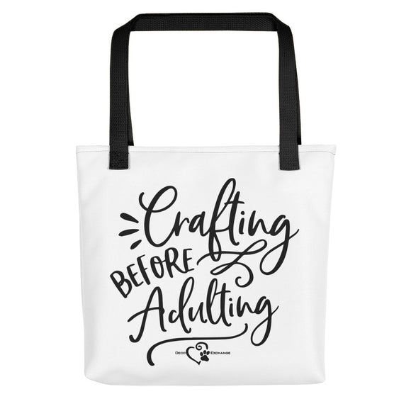 Crafting Before Adulting - Tote bag - DecoExchange - DecoExchange