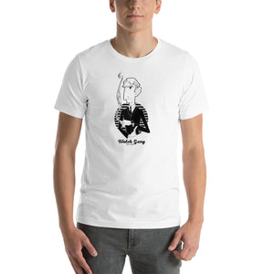 Smoking Man Short-Sleeve T-Shirt