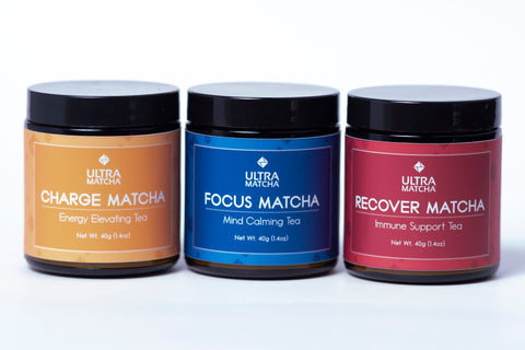 Enhanced Matcha Blends