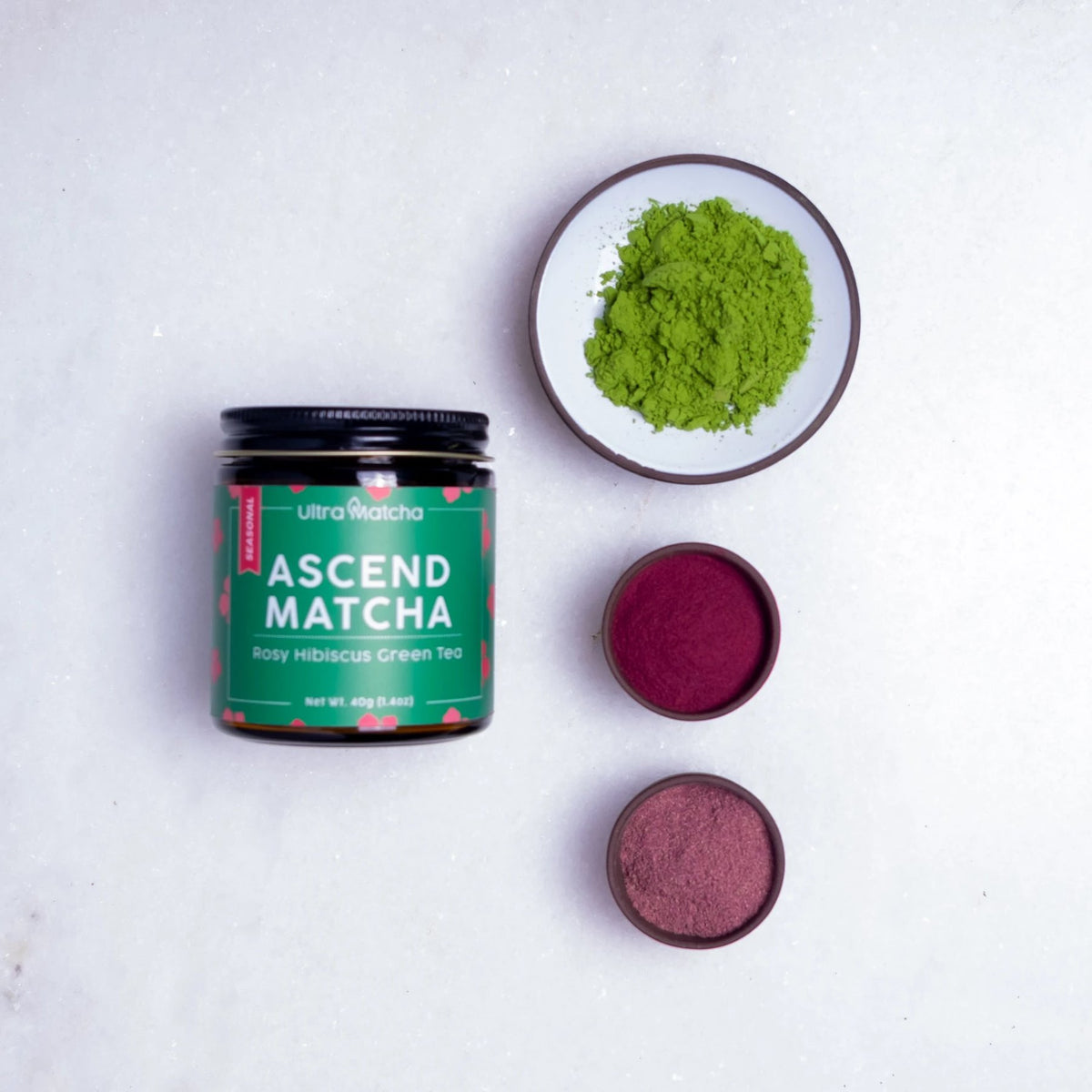 Rosy Hibiscus Matcha - Limited Release