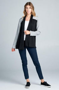 Color Block Cardigan