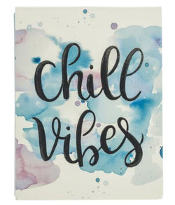 Chill Vibes Pocket Notepad