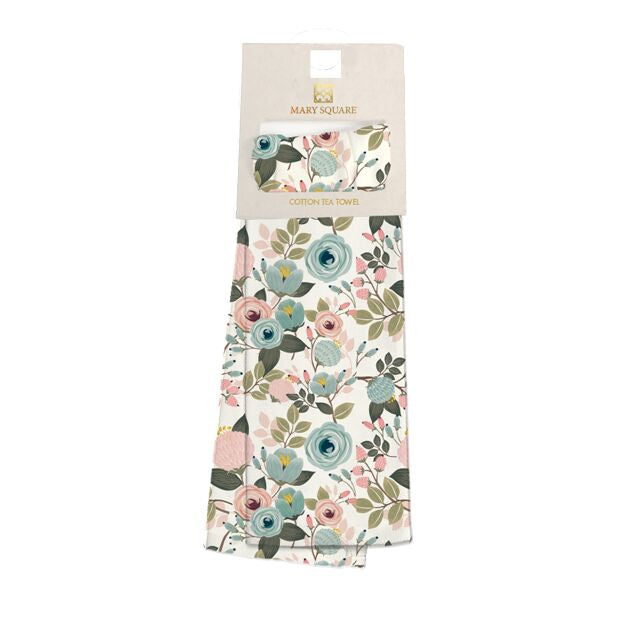 Decorative Towel- Pastel Floral
