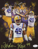 Arden Key Signed LSU Tigers 8x10 Collage Photo (JSA)
