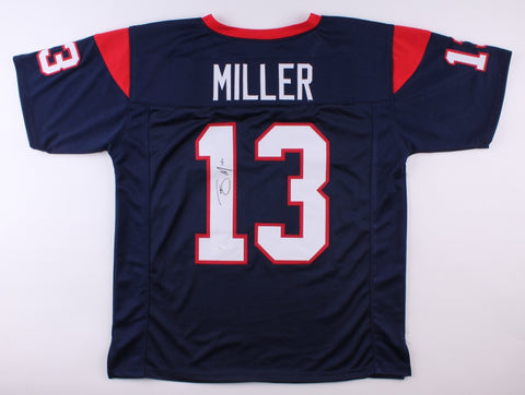 Braxton Miller Signed Houston Texans Jersey (JSA)