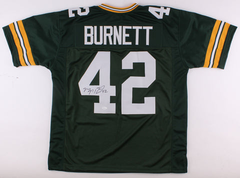 Morgan Burnett Signed Green Bay Packers Jersey (JSA)