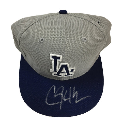 Clayton Kershaw Signed Los Angeles Dodgers Baseball Cap