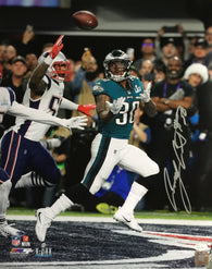 Corey Clement Signed Philadelphia Eagles Super Bowl LII 16x20 Photo (JSA)