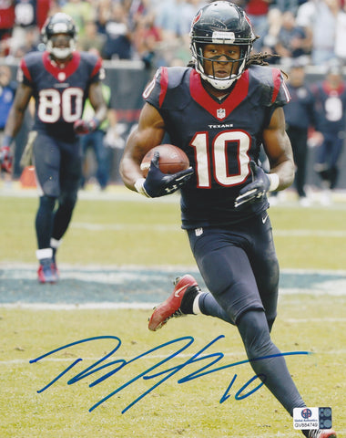 DeAndre Hopkins Signed Houston Texans 8x10 Photo