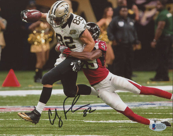 Coby Fleener Signed New Orleans Saints 8x10 Photo (Beckett)