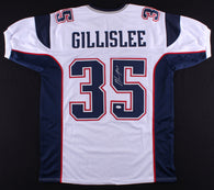Mike Gillislee Signed New England Patriots Jersey (JSA)