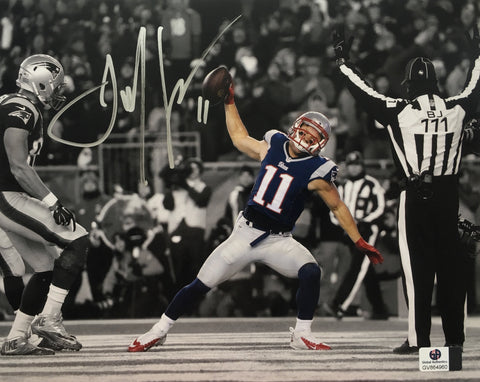 Julian Edelman Signed New England Patriots 8x10 Photo