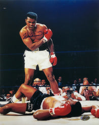 Muhammad Ali Signed 8x10 Photo The Phantom Punch Fight Over Sonny Liston