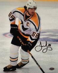 Jaromir Jagr Signed Penguins 8x10 Photo