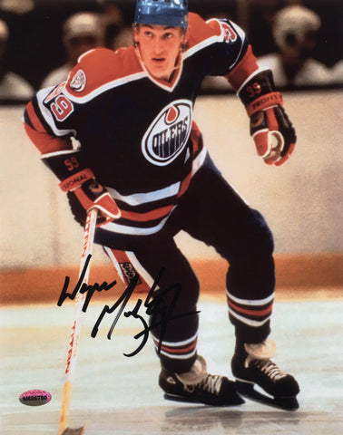 Wayne Gretzky Edmonton Oilers Signed 8x10 Photo