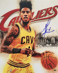 Iman Shumpert Cleveland Cavaliers Signed 16x20 Photo (CAS)