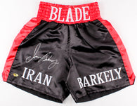 Iran Barkley Blade Signed Boxing Trunks (MAB)