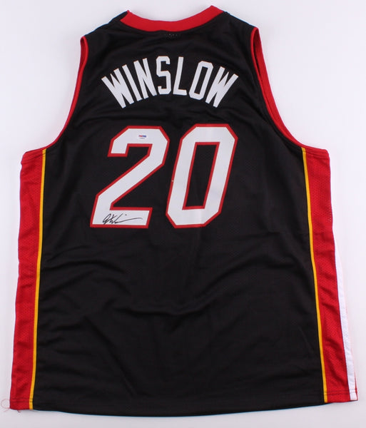 Justise Winslow Signed Miami Heat Jersey (PSA)