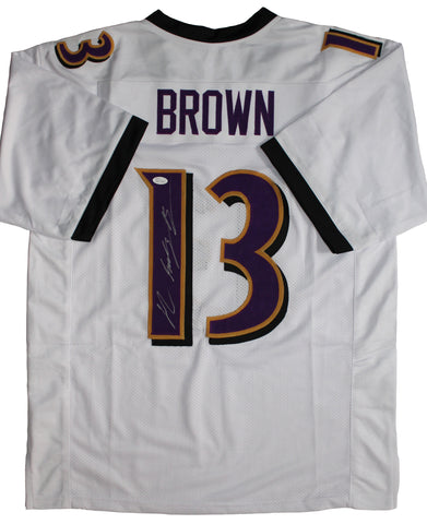 John Brown Signed Baltimore Ravens Jersey (JSA)