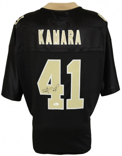 Alvin Kamara Signed New Orleans Saints NFL Black Proline Jersey (JSA)